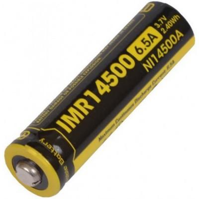 Аккумулятор NITECORE IMR NL14500 3.7v 650mA 6.5A