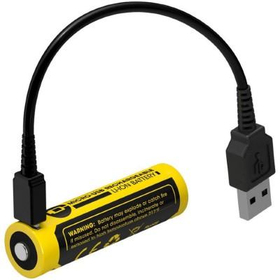 Аккумулятор NITECORE NL1475R 14500 USB 750mah