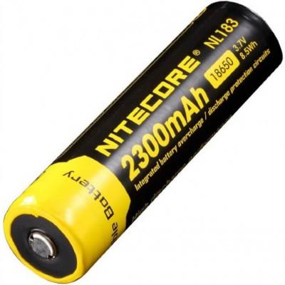 Аккумулятор NITECORE NL1823 18650 Li 3.7v 2300mA
