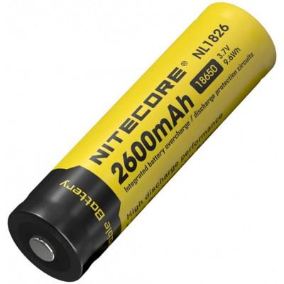 Аккумулятор NITECORE NL1826 18650 2600