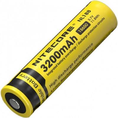 Аккумулятор NITECORE NL1832 18650 3200mA 3.7v