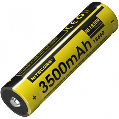 Аккумулятор NITECORE NL1835R 3500 18650 USB