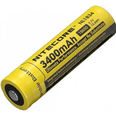Аккумулятор с защитой NITECORE NL1834 18650 Li-ion 3.7v3400mA